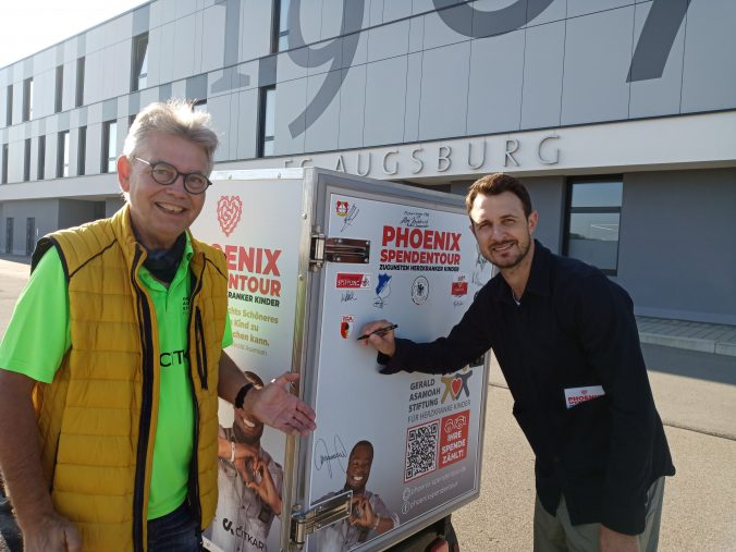 Christoph Janker, ehemaliger Profi des FC Augsburg war begeistert